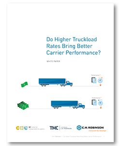 Do Higher Truckload Rates Bring Better Carrier Performance
