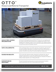 OTTO: Heavy-Load Material Transporter - Supply Chain 24/7 Paper