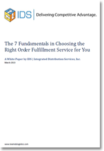 Thesis on order fulfilment