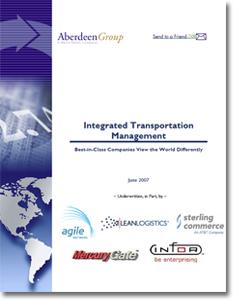 Aberdeen Integrated Transportation Management Systems Report