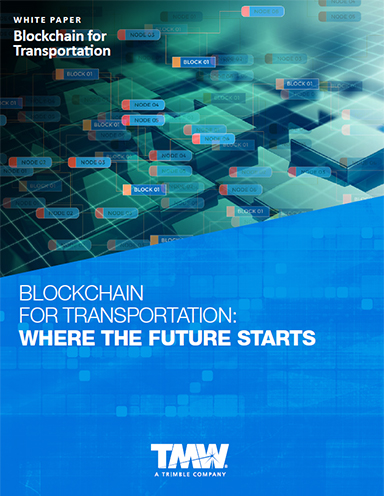 Blockchain for Transportation: Where the Future Starts