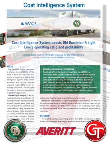 SMC³'s Cost Intelligence System: 3 Case Studies - Logistics