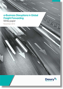 e-Business Disruptions in Global Freight Forwarding - Supply Chain