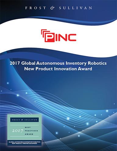Global Autonomous Inventory Robotics New Product Innovation Award