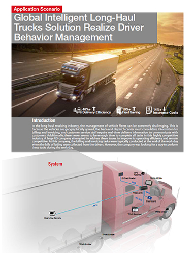Global Intelligent Long-Haul Trucks Solution Realize Driver