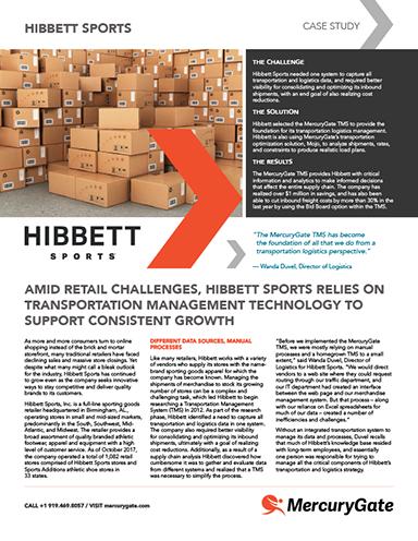 aa495dc9707e87 Hibbett Sports Utilizes Transportation Management Technology to ...