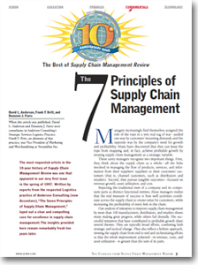 The 7 Principles Of Supply Chain Management Supply Chain