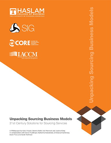 Unpacking Sourcing Business Models: 21st Century Solutions for